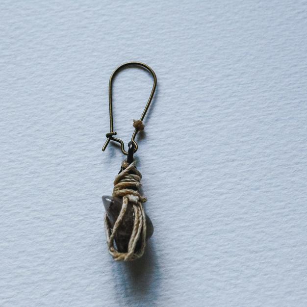 Single Stone Earring -SE02