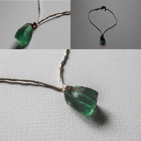 Short SeaGlass Necklace - SN06