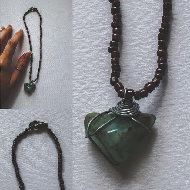 Short Stone Necklace - SN01