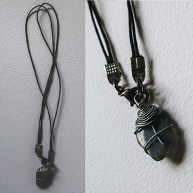 Blue Stone Necklace - SN04