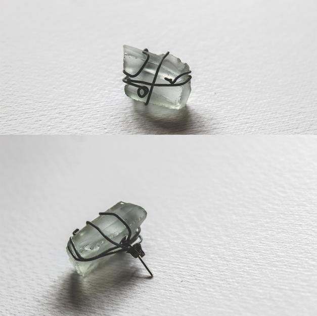 Single SeaGlass Earring - GE01