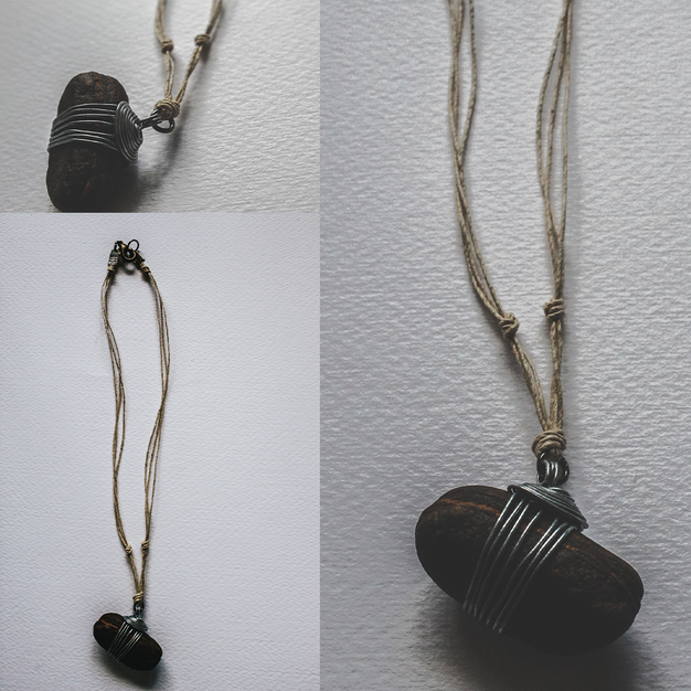 River Stone Necklace - SN03