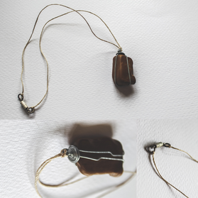 Desert Stone Necklace - P11