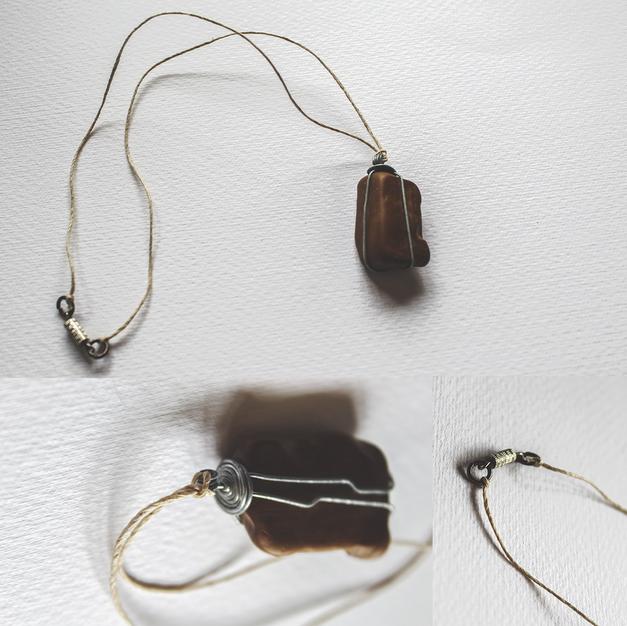 Desert Stone Necklace - P11
