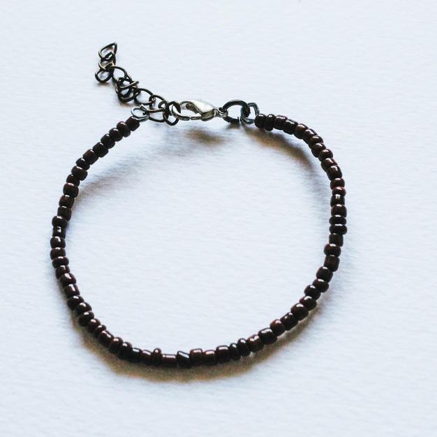 Brown Wire Bracelet -WB03