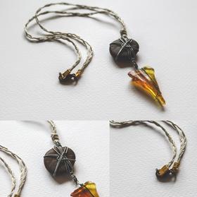 Desert Glass Pendant - P08