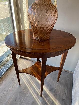 Tavolino Ovale in noce massello