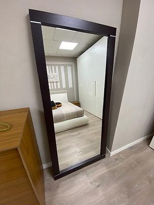 Specchio Villanova rovere moro