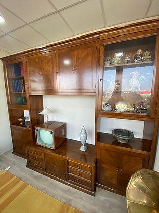 Mobile soggiorno legno noce Bordignon