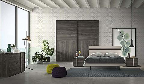 camera-da-letto-legno-con-inserti-laccat