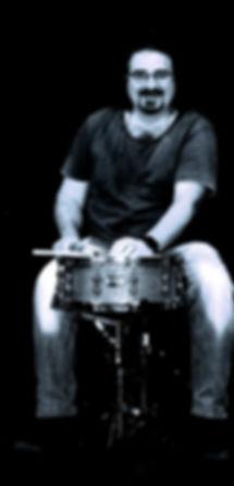 Ignazio Di Fresco, insegnante funky fusion d batteria nell'Accademia Musica Moderna di Palermo