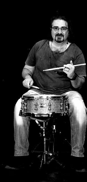 Ignazio Di Fresco, insegnante funky fusion d batteria nell?Accademia Musica Moderna d Palermo