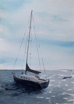 Sobre el mar 3
