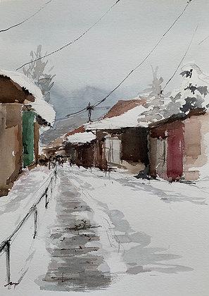 Sobre nieve