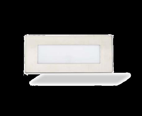 Luminaria de cortesía exterior rectangular 1,5W