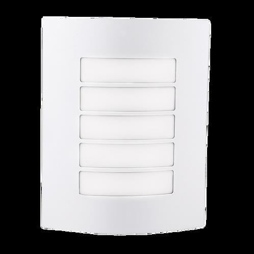 Arbotante de pared exterior blanco
