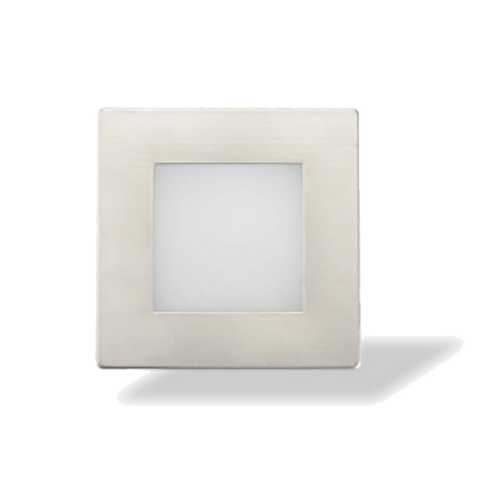 Luminaria de cortesía exterior cuadrado 1,5W