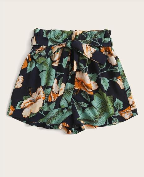 Paperbag Tropical Short