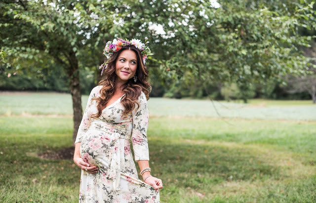 THE PERFECT MATERNITY DRESS FOR A FAIRYTALE BABY SHOWER