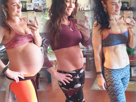 POSTPARTUM WORKOUTS TO GET YOUR FITMOM BOD