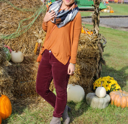 A LOVE AFFAIR WITH FALL {AND LOFT PANTS}