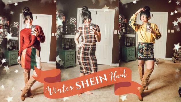 Shop My Shein Winter Haul
