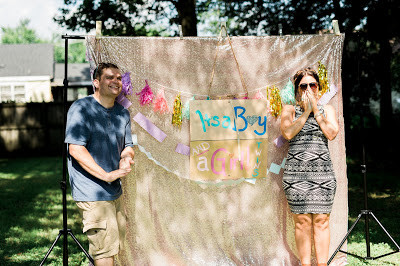 A GENDER REVEAL FOR THE BOOKS
