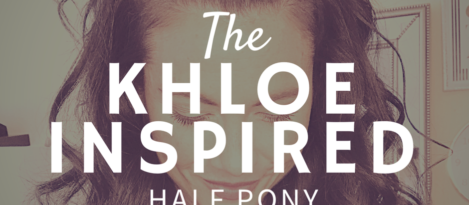 HOW TO: KHLOE-INSPIRED HALF PONY