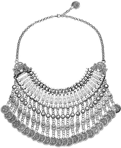 Silver Festival Necklace