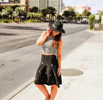 VEGAS DAY-TO-NIGHT: CROP TOPS TO CUT-OUTS