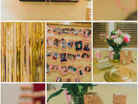 A 30TH PINK, GOLD & GLAMOUR PARTY