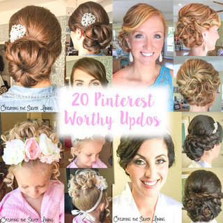 20 PINTEREST WORTHY UPDOS: A 365 DEGREE VIEW