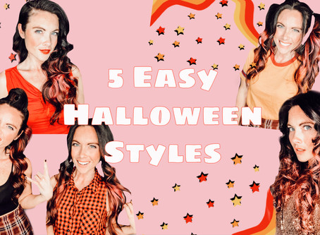 5 Easy Halloween Hairstyles