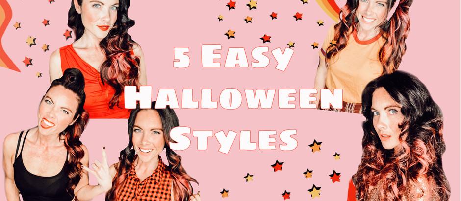 5 Easy Halloween Hairstyles