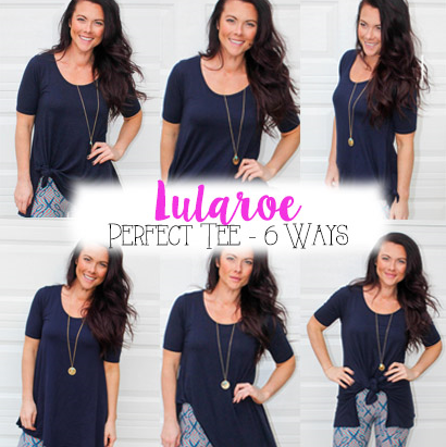 6 WAYS TO ROCK A LULAROE PERFECT TEE