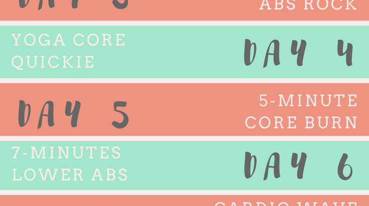 Tone It Up Ab Challenge: 10 Days of 10-Minute Abs