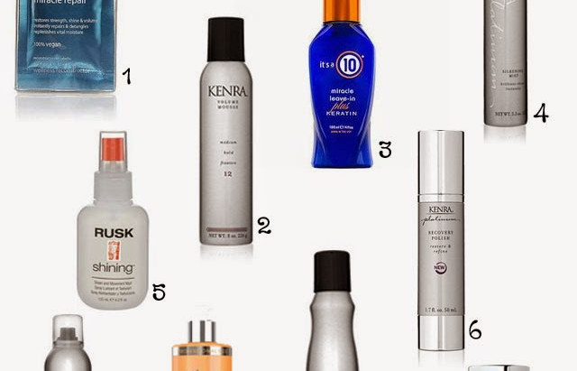 TOP TEN: MY MUST HAVE HAIR PRODUCTS