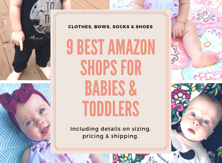 9 Best Amazon Shops for Babies & Toddlers