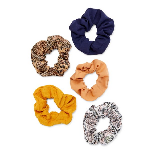 5-Pack Scrunchies