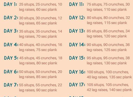 20-Day Core Crush Challenge