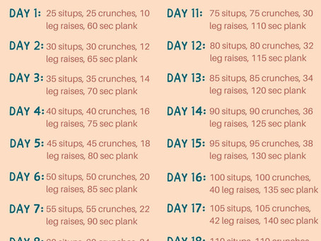20-Day Core Crush Challenge
