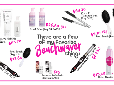 These Are a Few of My Favorite {Beachwaver} Things