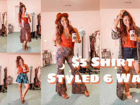 6 Ways to Style This $5 Walmart Shirt