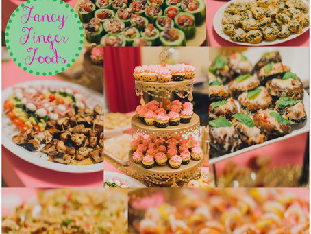 FANCY FINGER FOOD FOR A HEALTHY GIRL'S PARTY