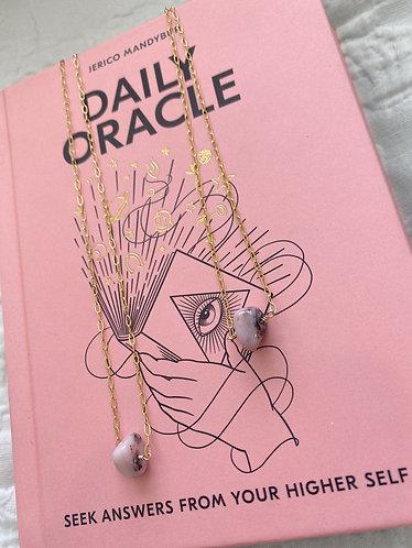 Pink Opal Choker