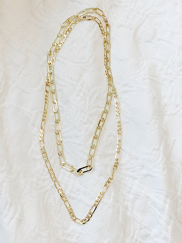 24k Gold Layered Necklaces