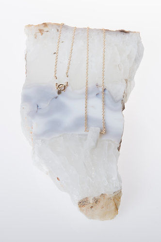 Divine Goddess Necklace (Rainbow Moonstone)