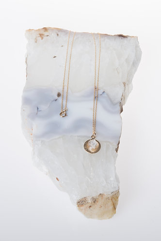 The Healer's Amulet (Apophyllite)