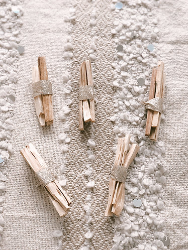 Golden Cleansing Holy Wood (Palo Santo)