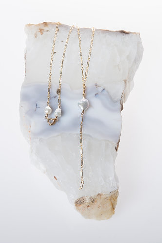 Aphrodite's Tear Necklace (Pearls)